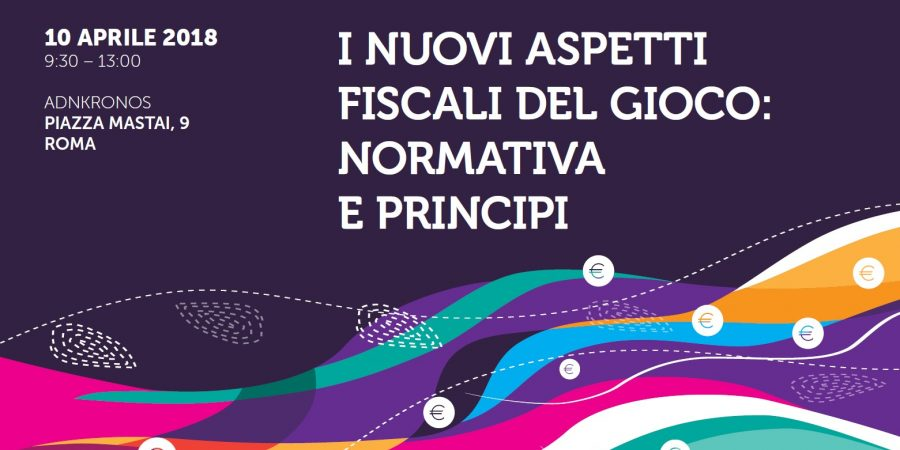 """L'Avv. Gabriele Escalar al Convegno su """"I nuovi aspetti fiscali del gioco: normativa e principi"""""""